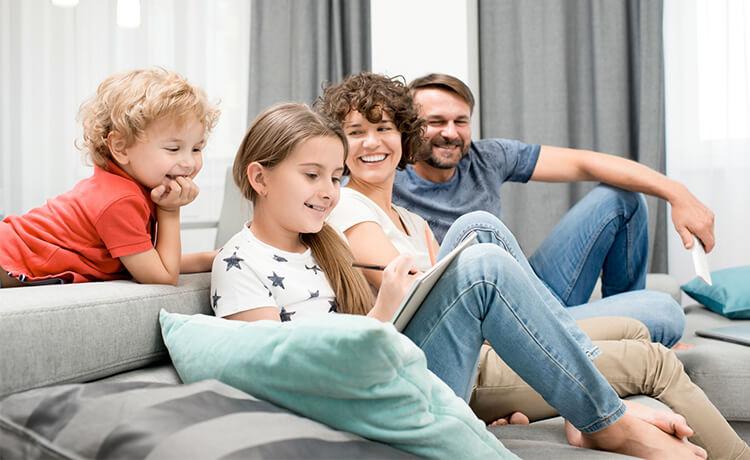 La famiglia del Mulino Bianco